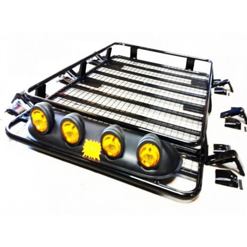 Heavy duty steel large roof rack platform luggage carrier tray 4x4 suv minibus caravan discovery